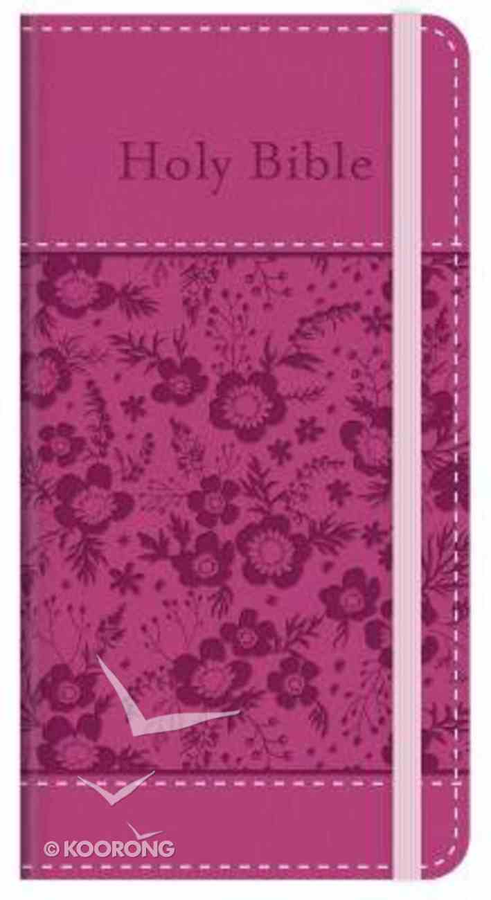 KJV Compact Bible, the Promise Edition Pink Red Letter Edition Paperback