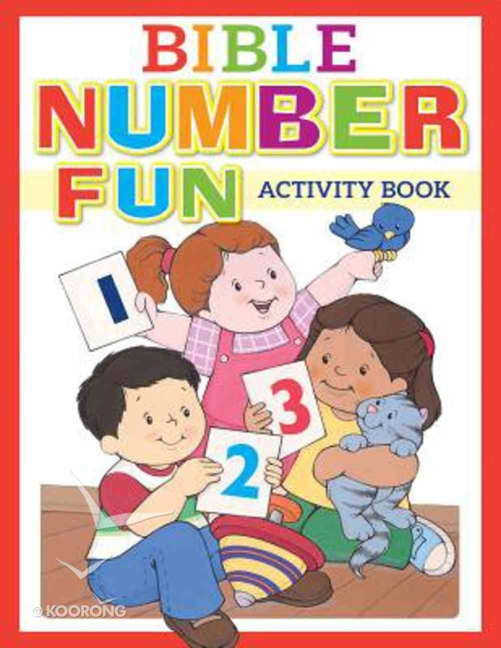 Bible Number Fun Activity Book Paperback