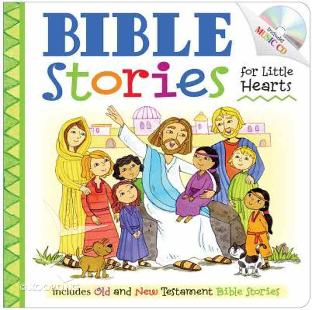 Bible Stories For Little Hearts Padded Board Book