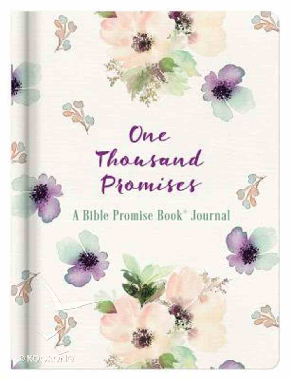 Journal: One Thousand Promises - a Bible Promise Book Journal Hardback