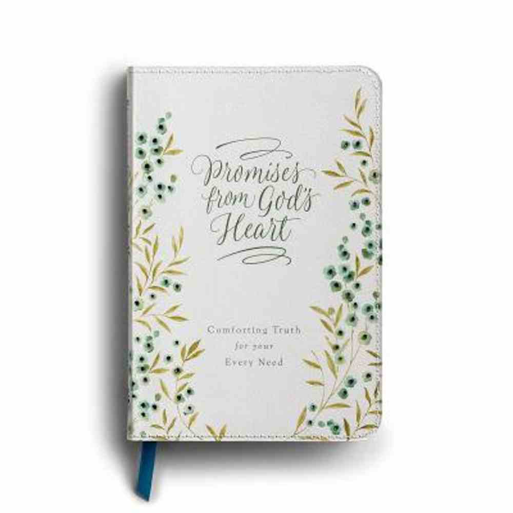 Promises From God's Heart: Dayspring's Bible Promise Book For Women Imitation Leather