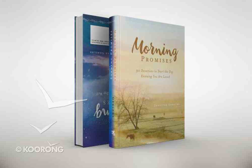 Morning and Evening Promises: 180 Devotions to Start and Finish Your Day Well Hardback