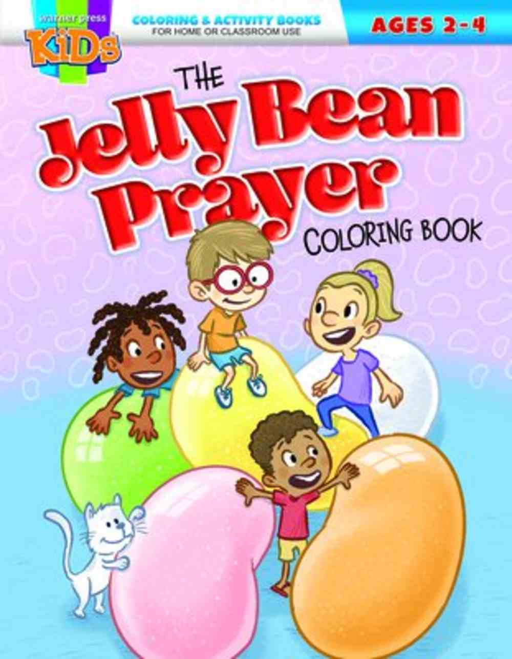 The Jelly Bean Prayer Coloring Book (Ages 2-4, NIV) (Warner Press Colouring & Activity Books Series) Paperback