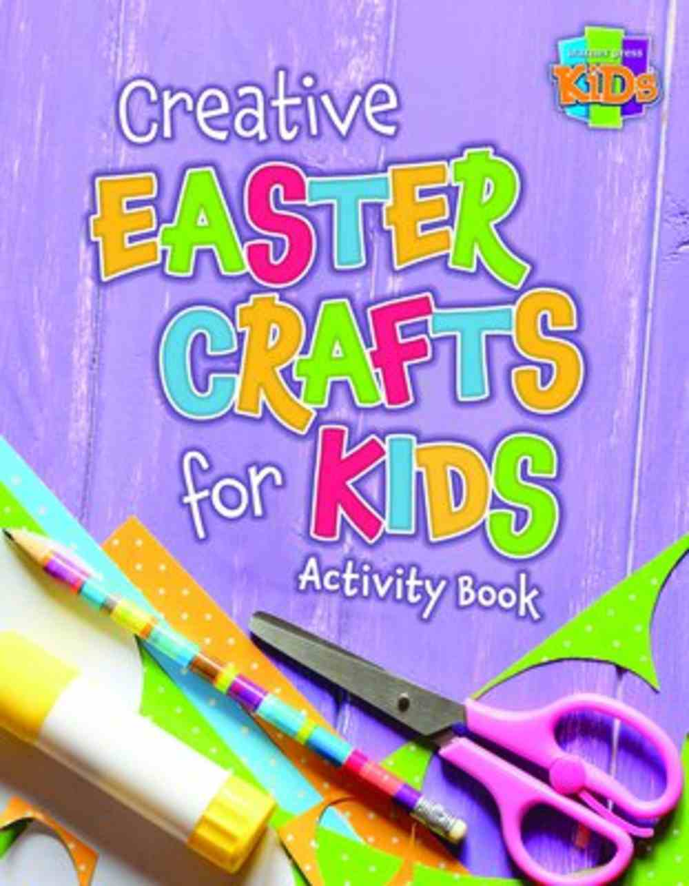 Creative Easter Crafts For Kids Activity Book (NIV) (Warner Press Colouring & Activity Books Series) Paperback