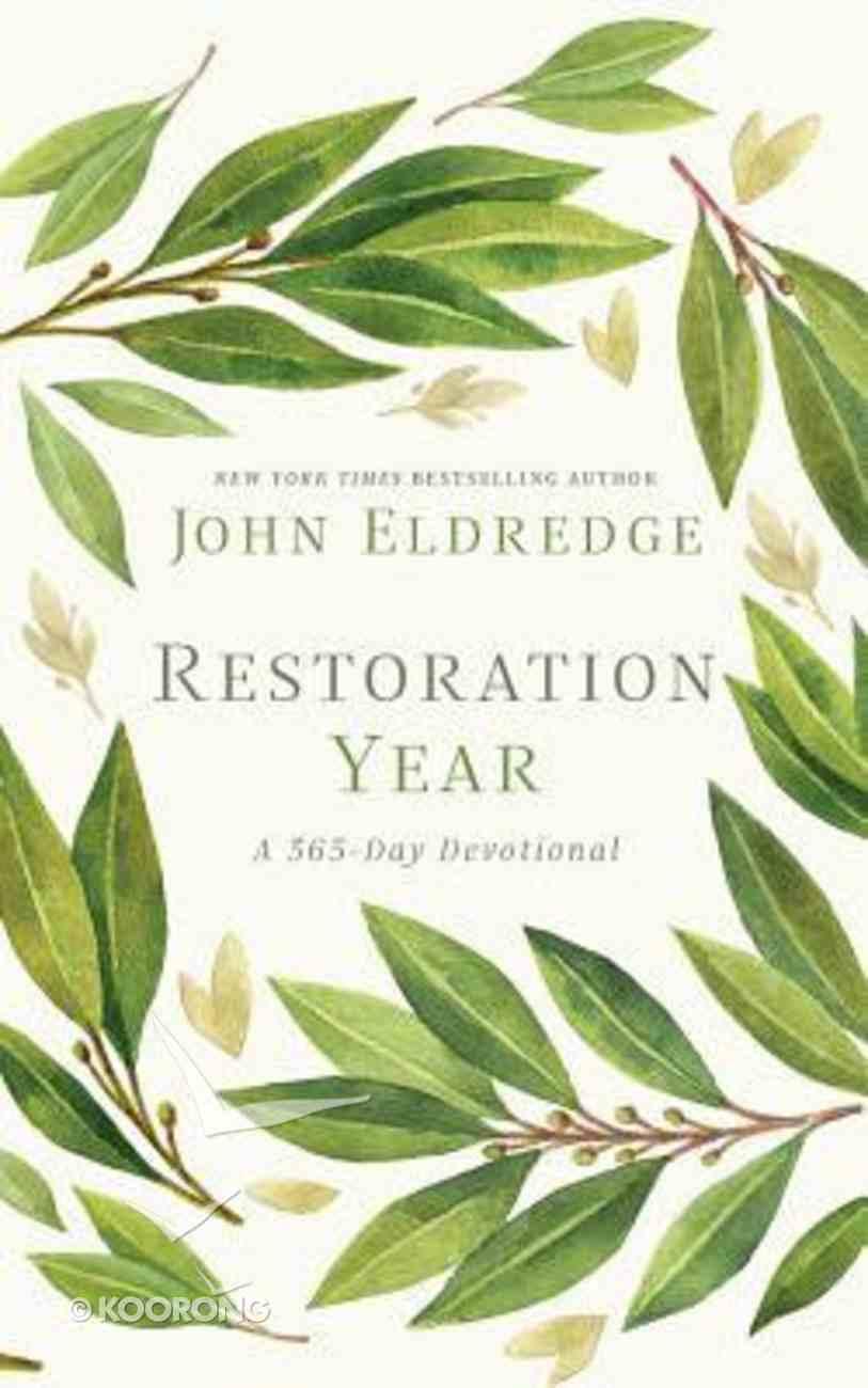 Restoration Year: A 365-Day Devotional (Unabridged, 9 Cds) CD