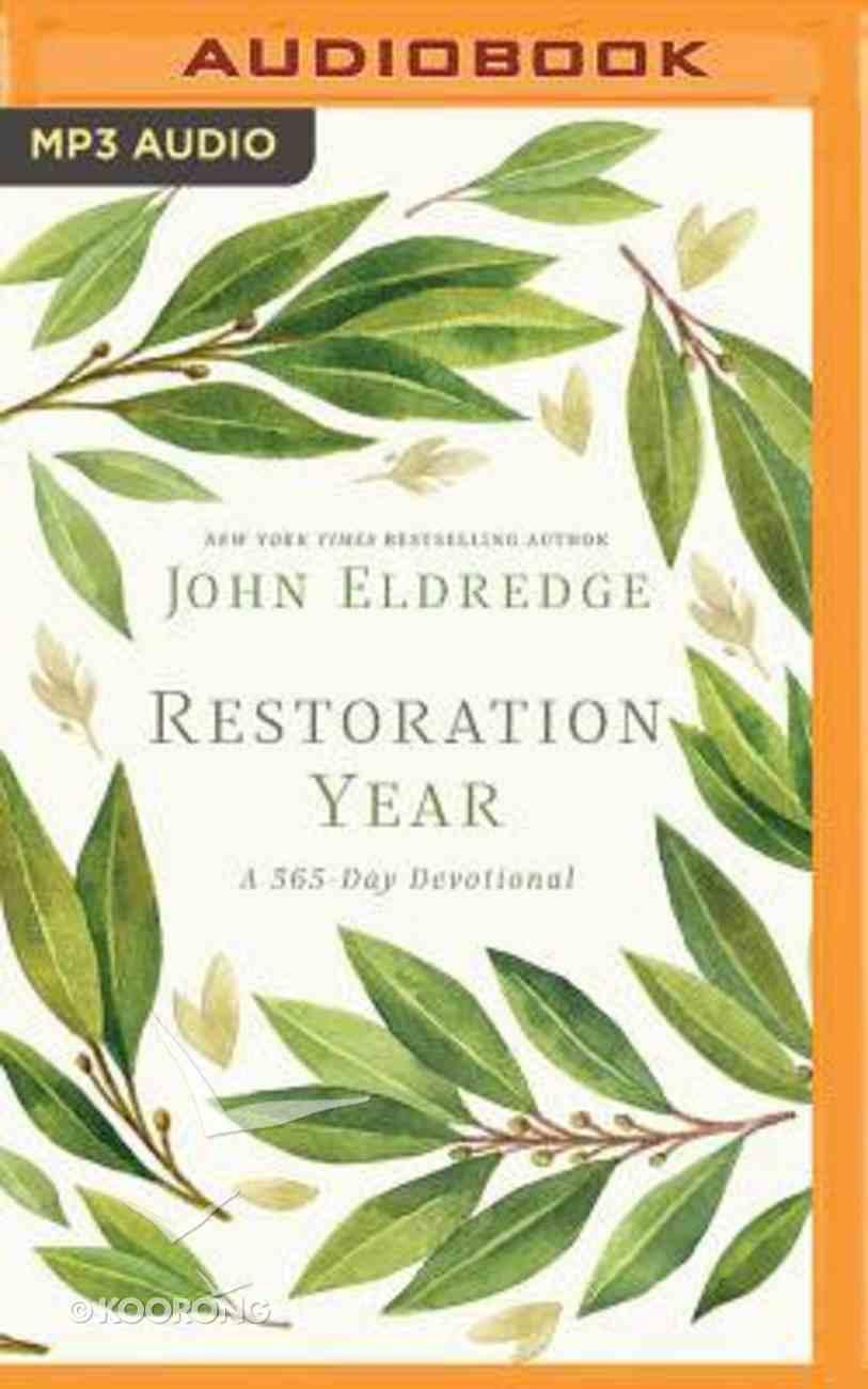 Restoration Year: A 365-Day Devotional (Unabridged, Mp3) CD
