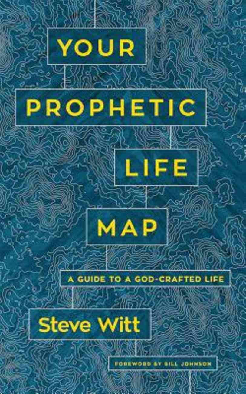 Your Prophetic Life Map: 16 Keys to a God-Crafted Life (Unabridged, 5 Cds) CD