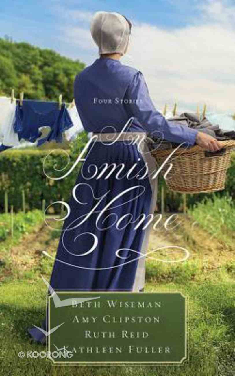 An Amish Home: Four Stories: A Cup Half Full; Home Sweet Home; Building Faith; a Flicker of Hope (Unabridged, 9 Cds) CD