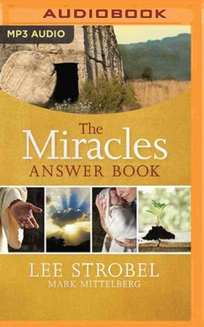 The Miracles Answer Book (Unabridged, Mp3) CD