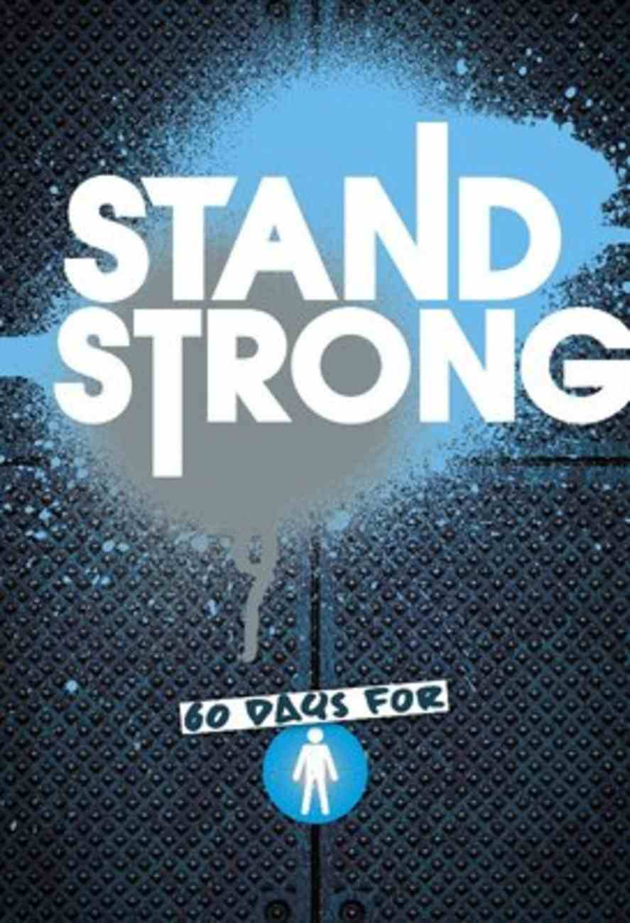 Stand Strong - Boys' Devotional Paperback