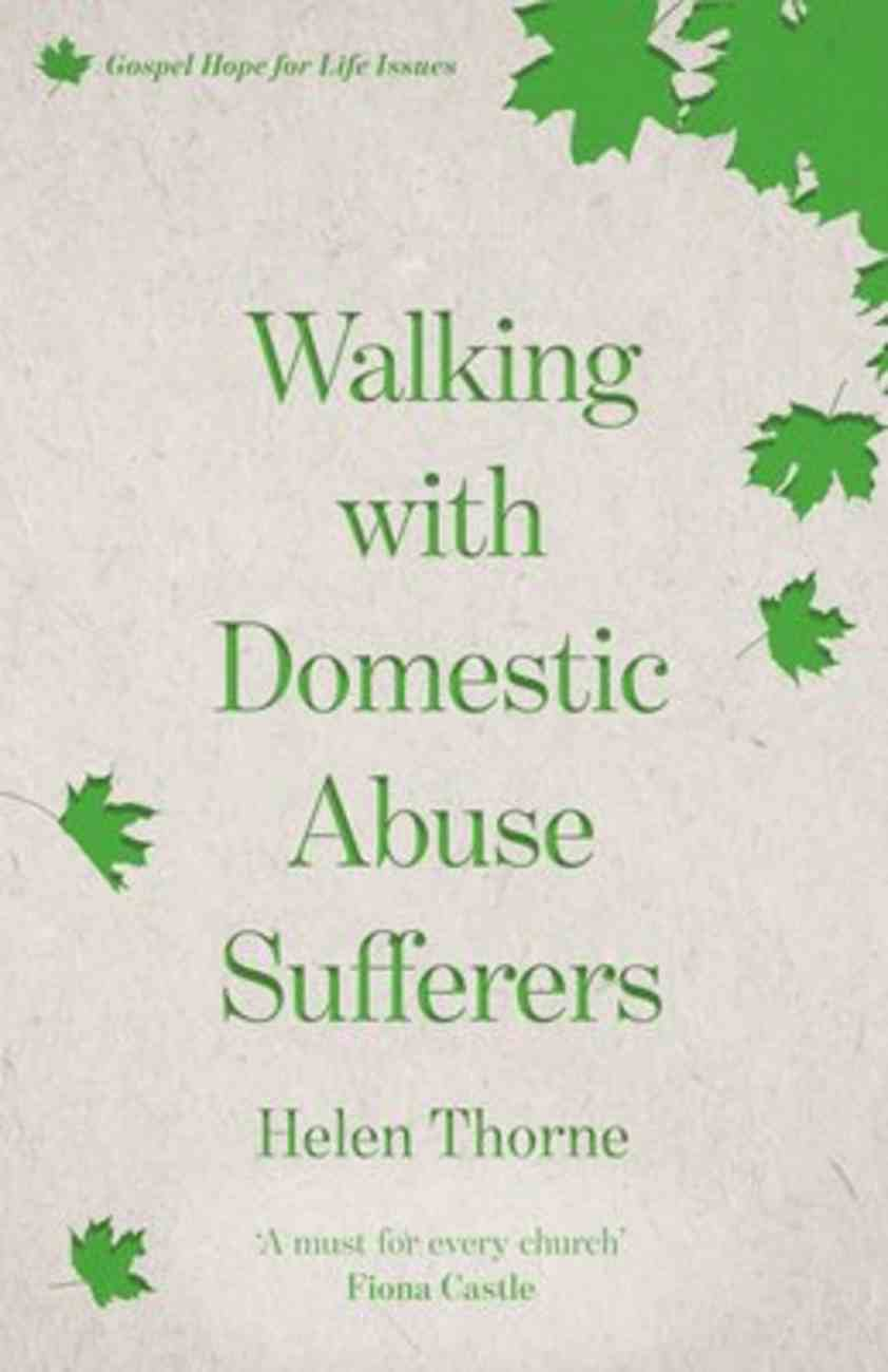 Walking With Domestic Abuse Sufferers Paperback