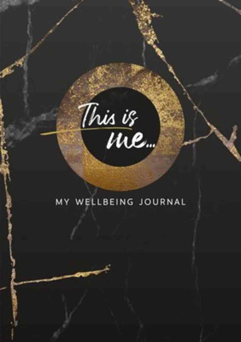 This is Me: My Wellbeing Journal Paperback