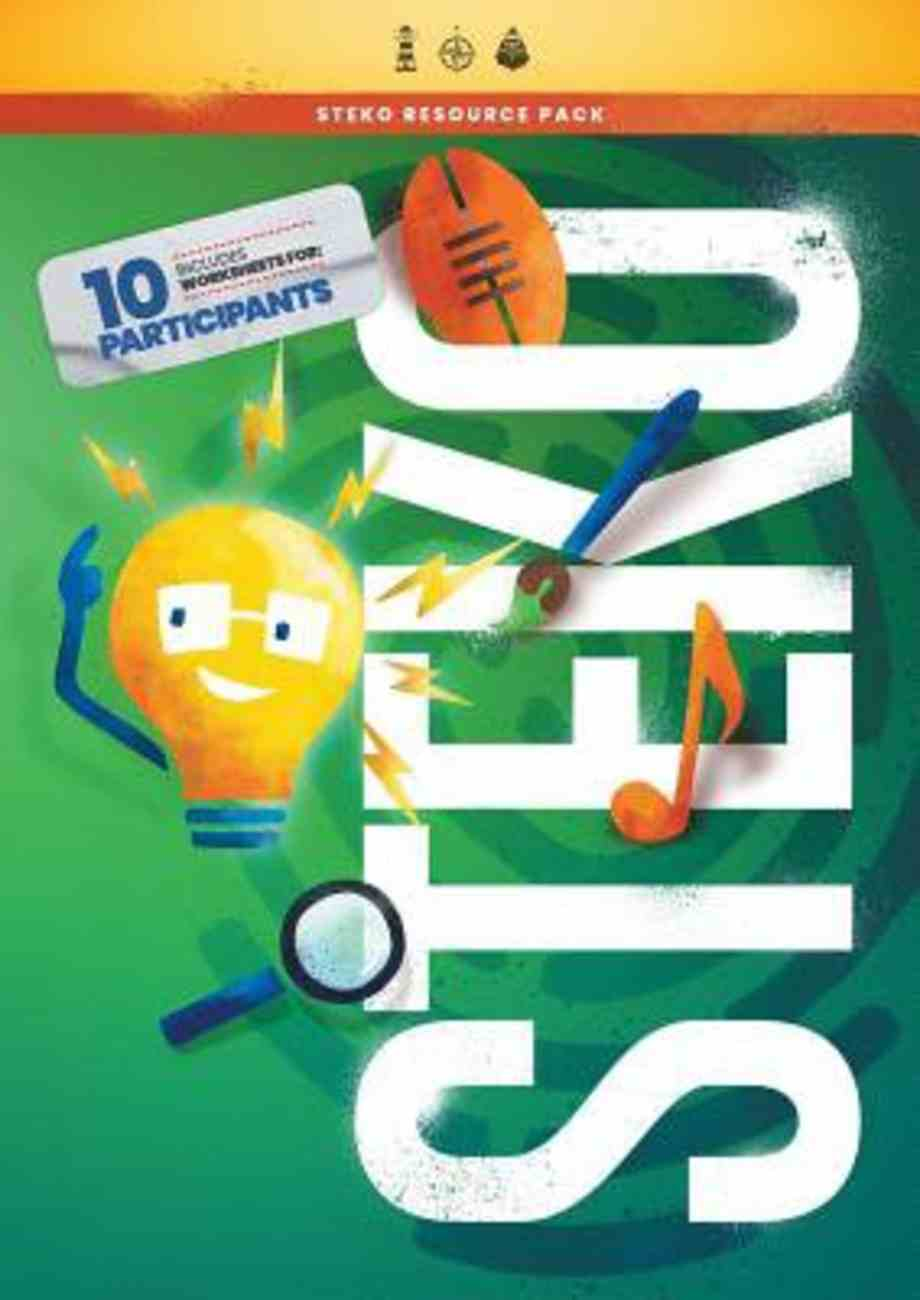 Steko: A Well-Being Programme For Children Aged 8-12 (Includes Worksheets For 10 Participants, Posters, Scenario Cards, Role-Play Scripts) (Resource Pack) Pack