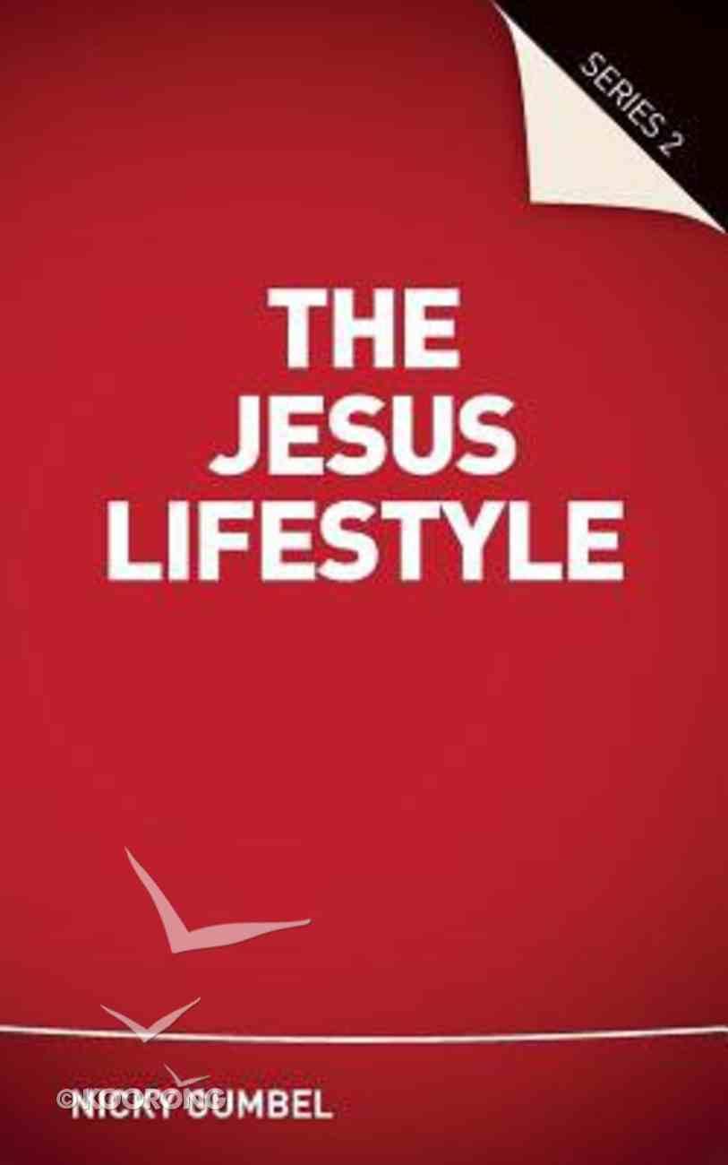 Jesus Lifestyle Series 2 (Guest Manual) (Alpha Course) Paperback