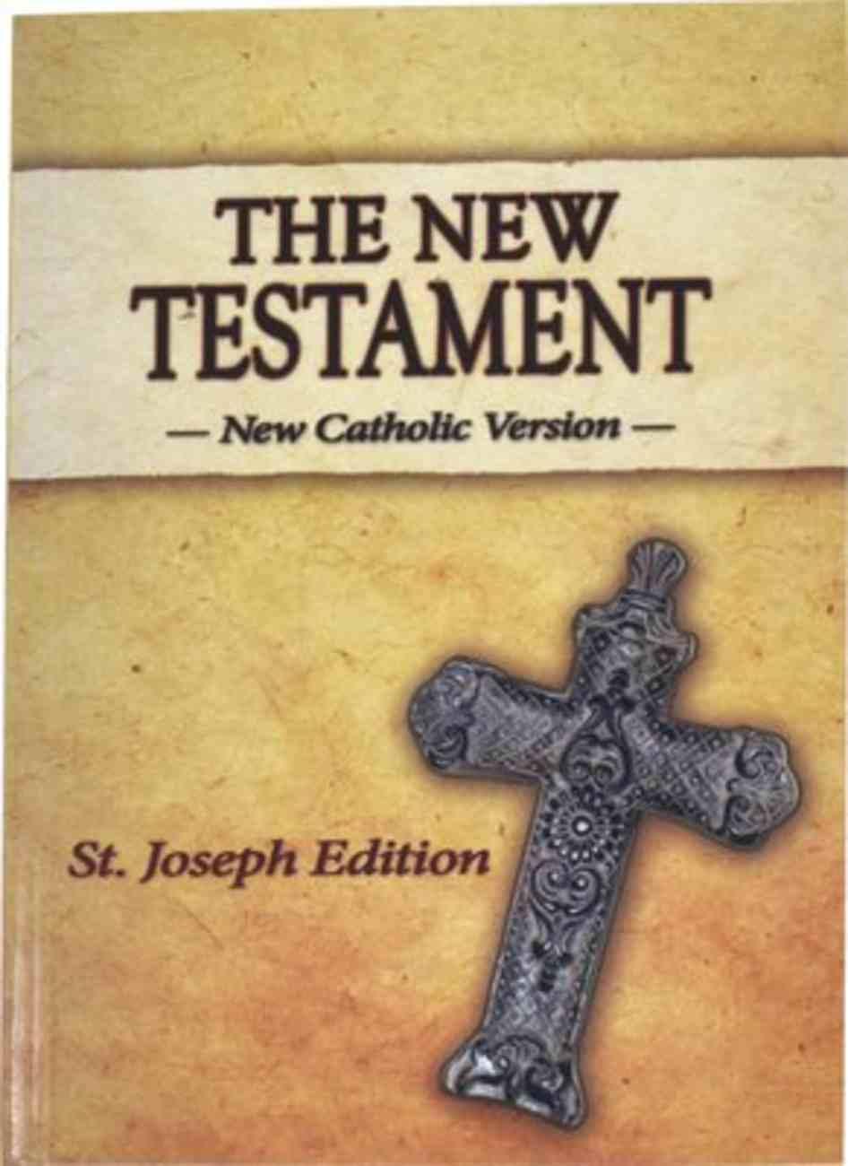 New Catholic Version St. Joseph New Testament Vest Pocket Imitation Leather