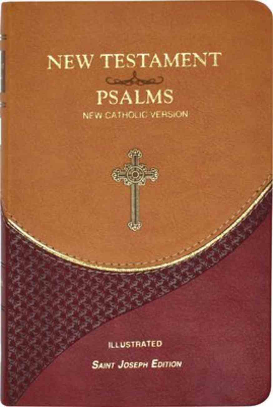 New Catholic Version New Testament and Psalms Vest Pocket Brown Imitation Leather