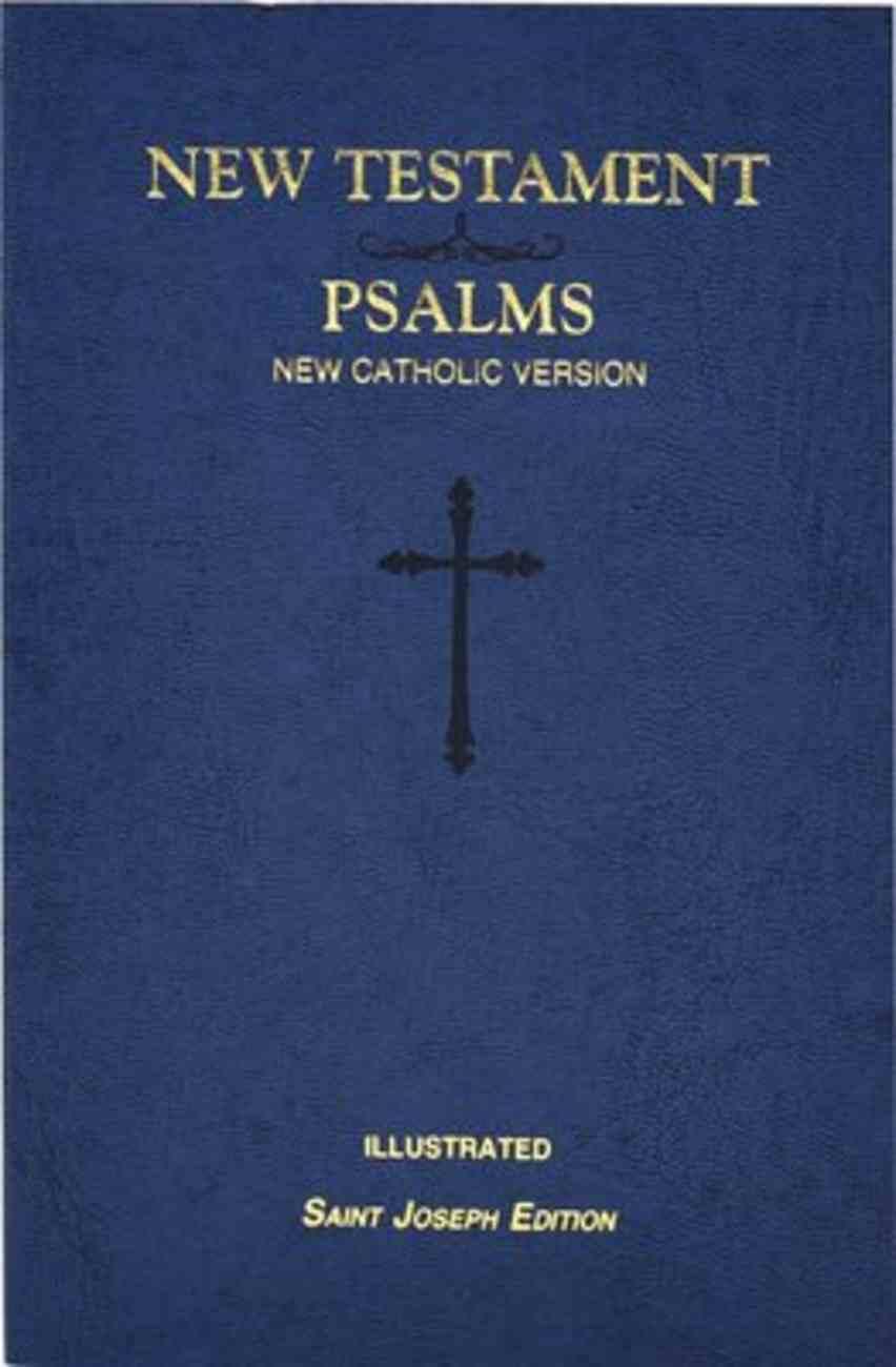 New Catholic Version New Testament and Psalms Vest Pocket Blue Paperback