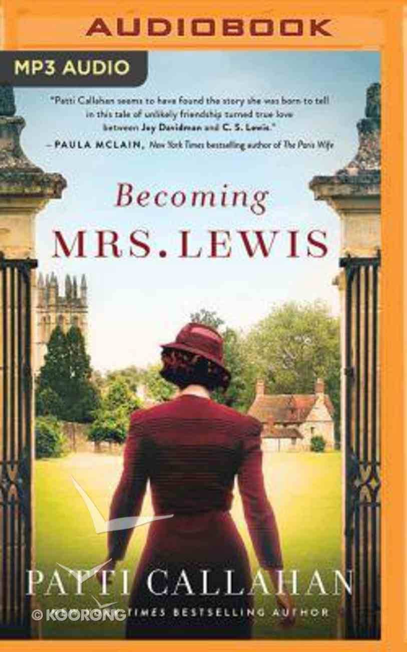 Becoming Mrs. Lewis (Unabridged, Mp3) CD