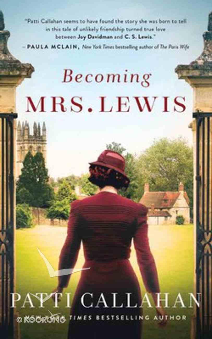Becoming Mrs. Lewis (Unabridged, 10 Cds) CD