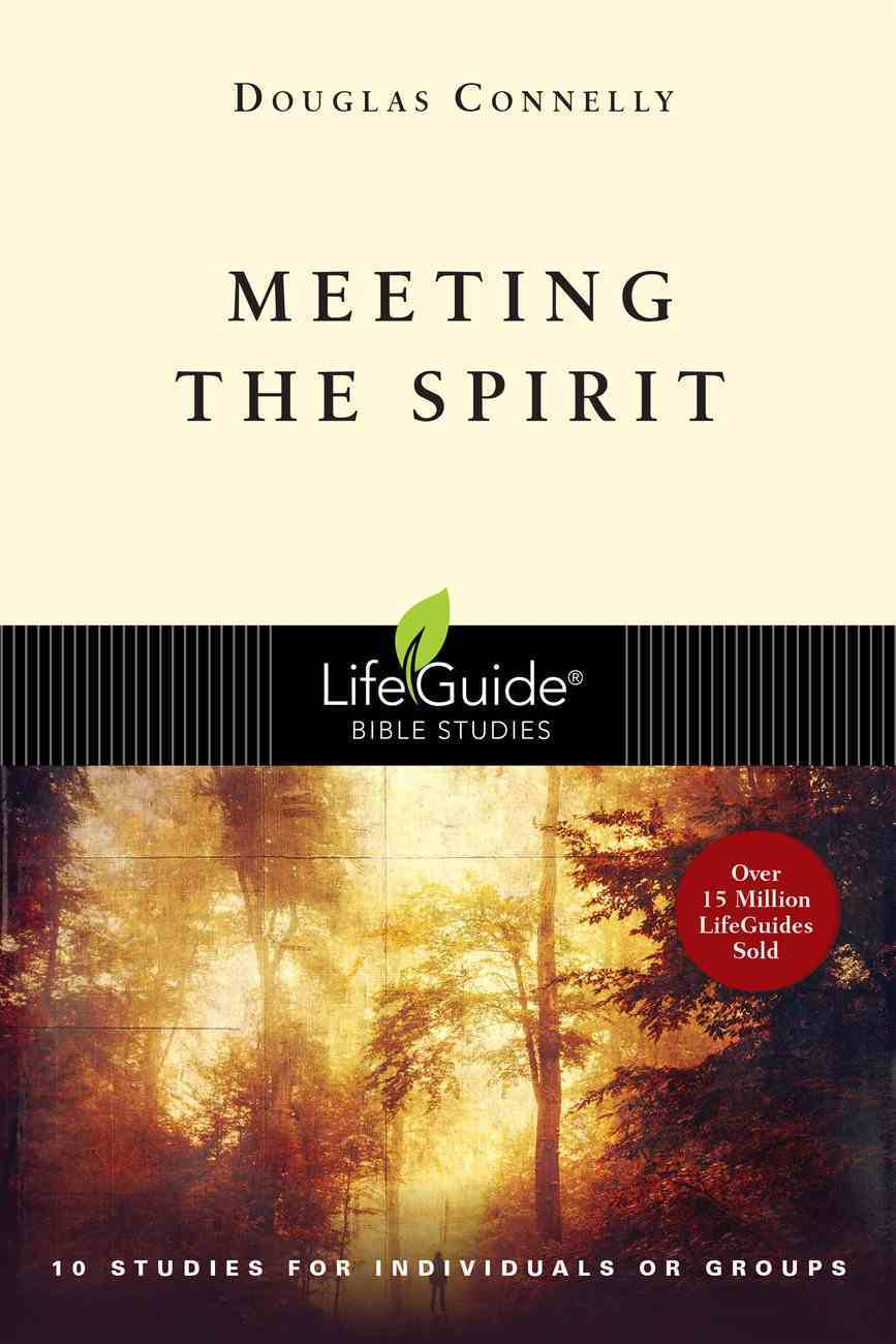 Meeting the Spirit (Lifeguide Bible Study Series) Paperback
