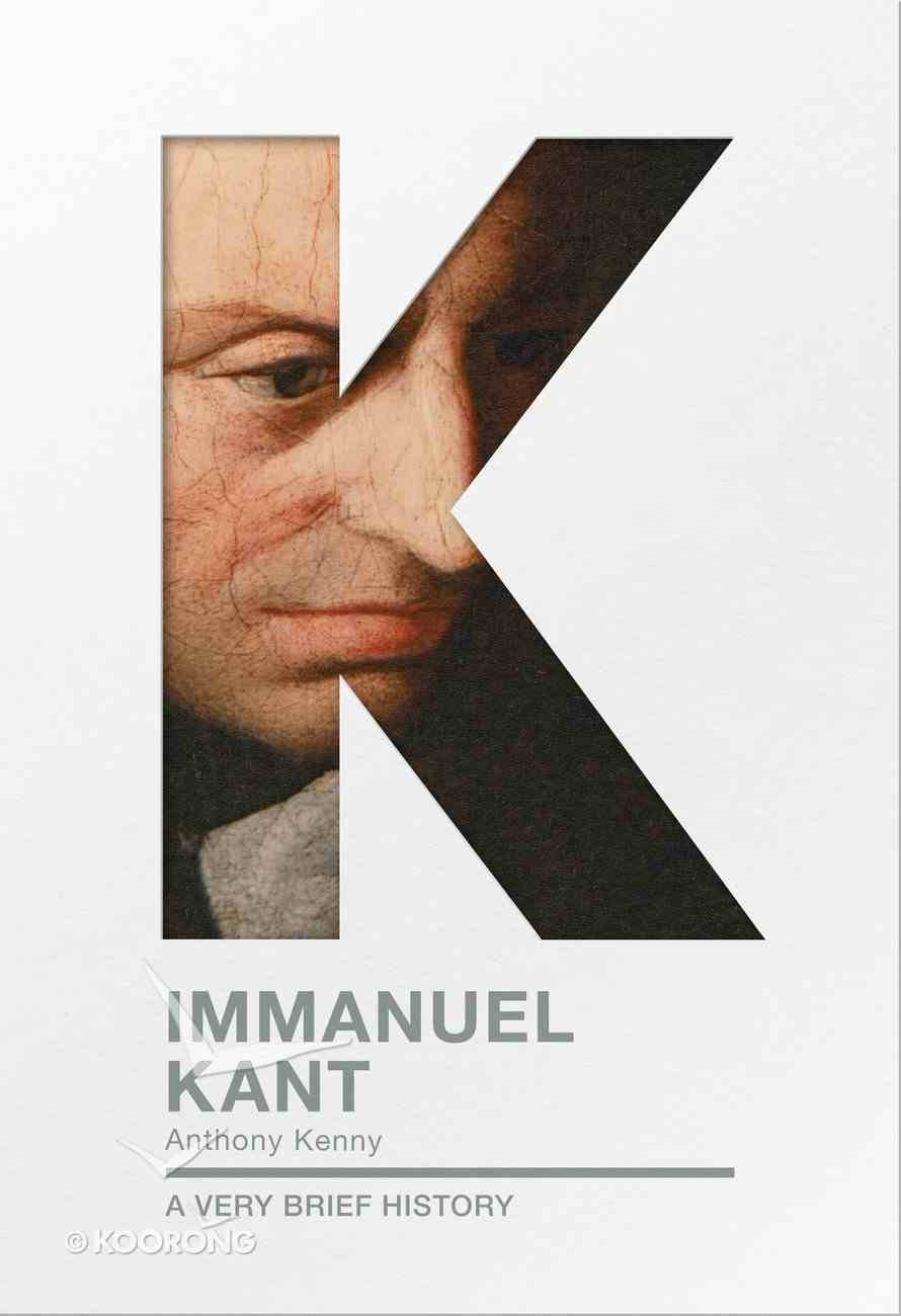 Immanuel Kant (A Very Brief History Series) Paperback
