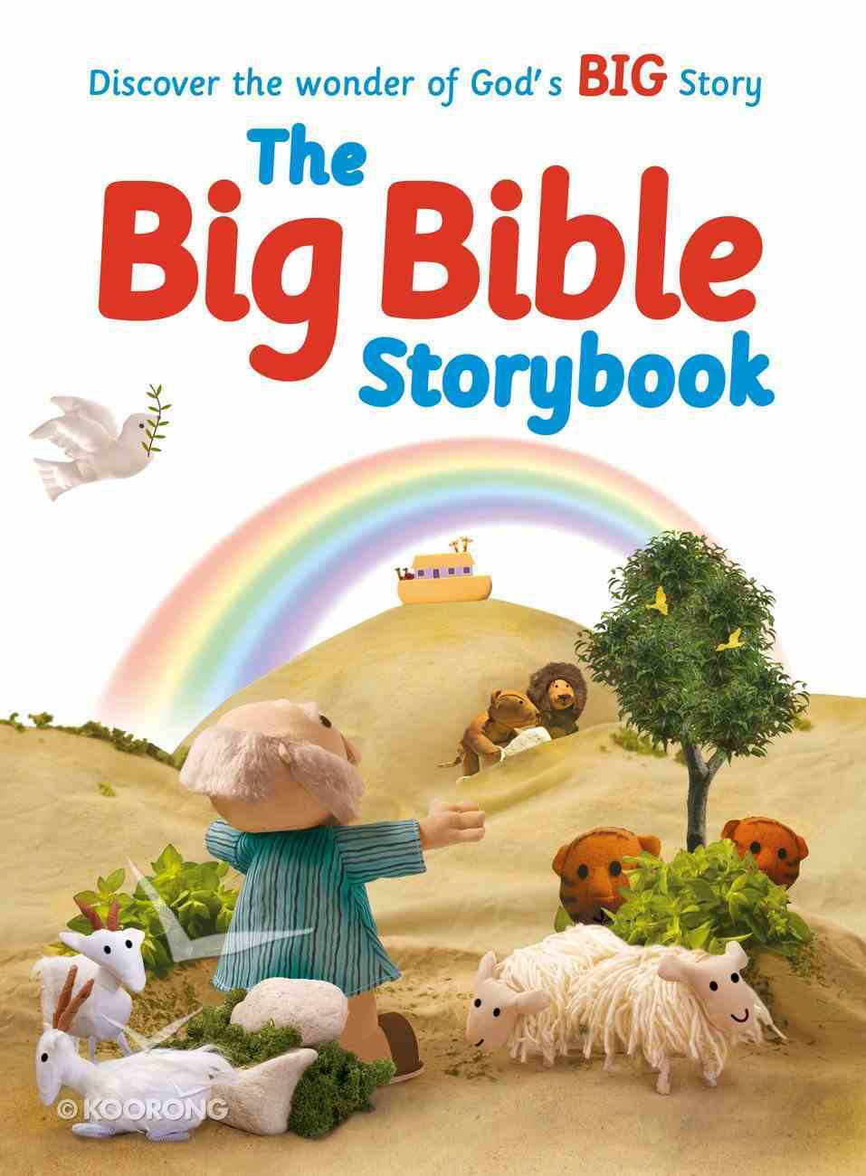 Big Bible Storybook, The: Containing 188 Best-Loved Bible Stories (Bible Friends Series) Paperback