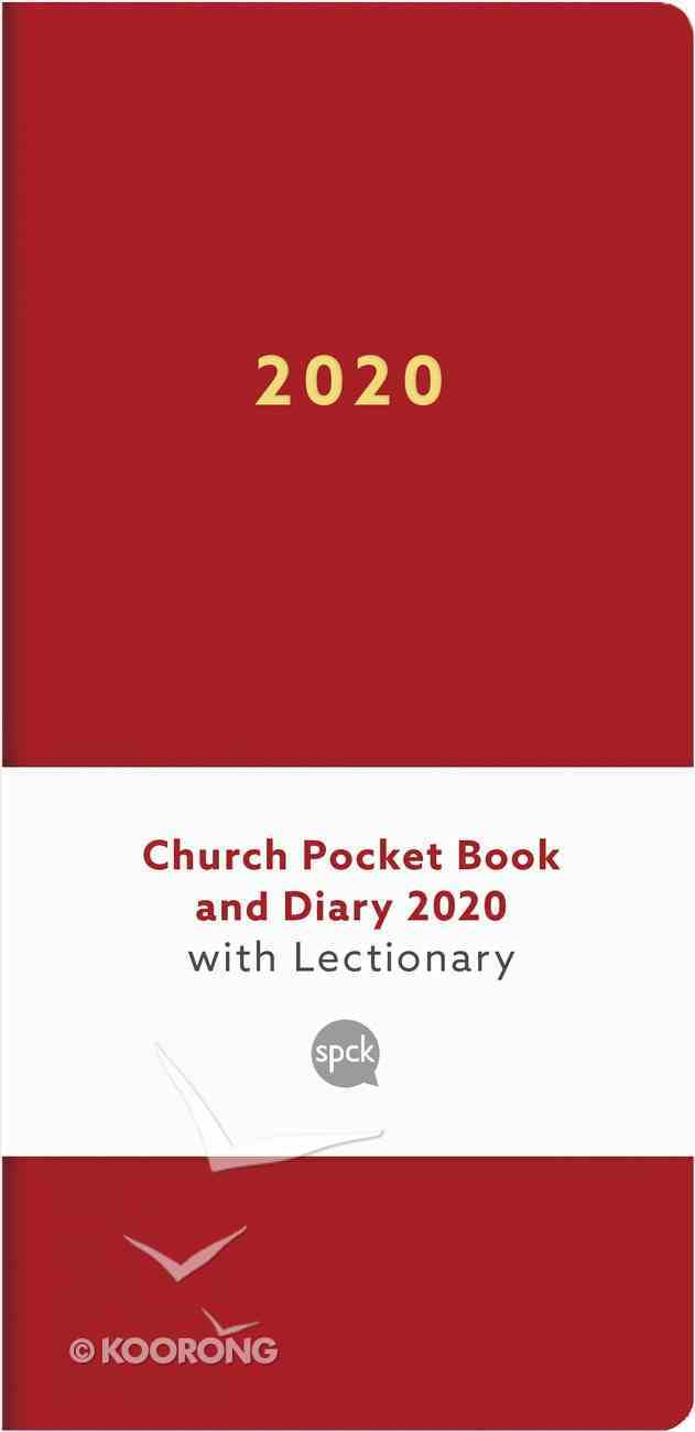 Church Pocket Book and Diary 2020 With Lectionary (Red) Hardback