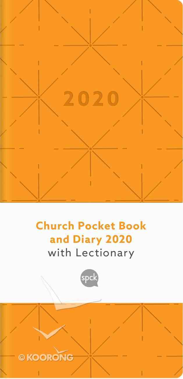 Church Pocket Book and Diary 2020 With Lectionary (Pattern 1) Hardback