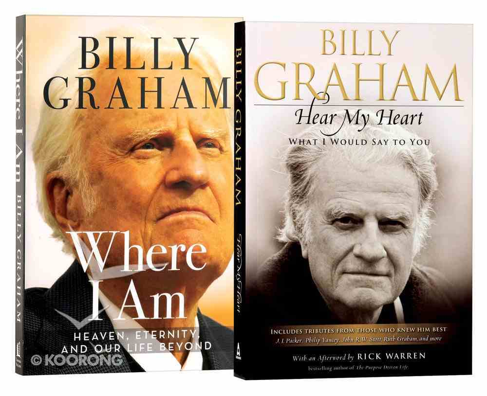 Billy Graham Two Pack Paperback