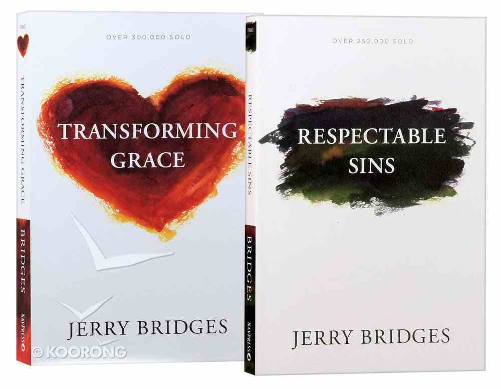 Jerry Bridges Two Pack Pack