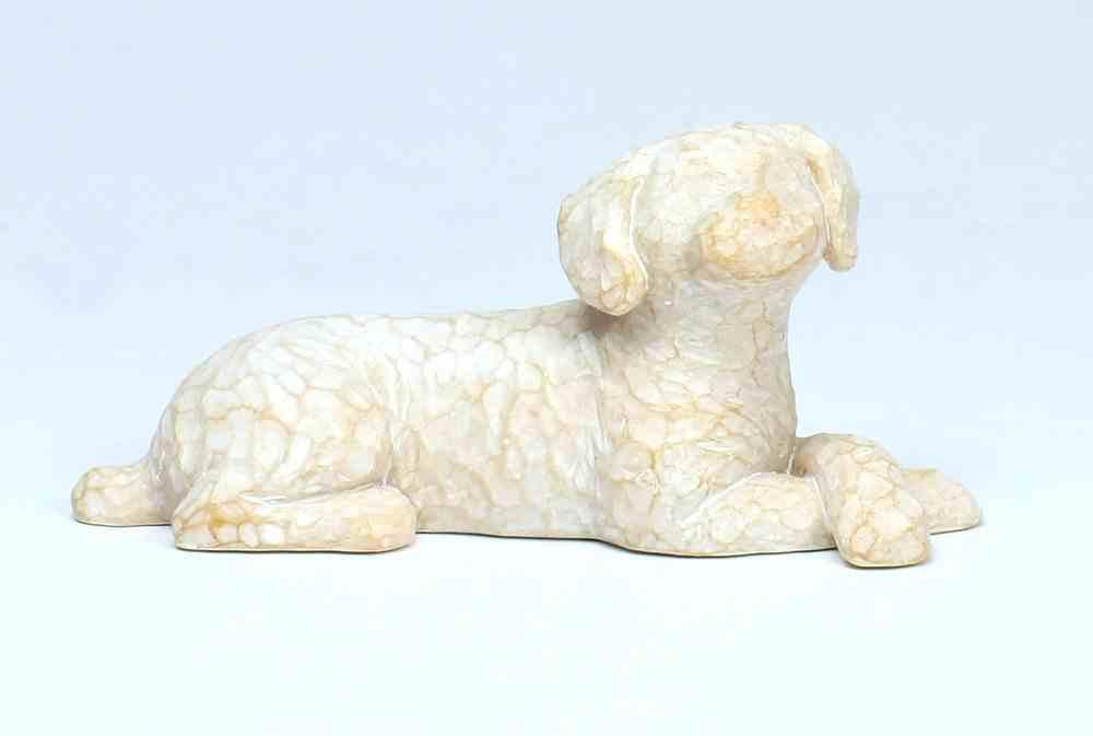 Willow Tree Figurine: Love My Dog, White (Small, Lying Down) (Love My Pets Series) Homeware