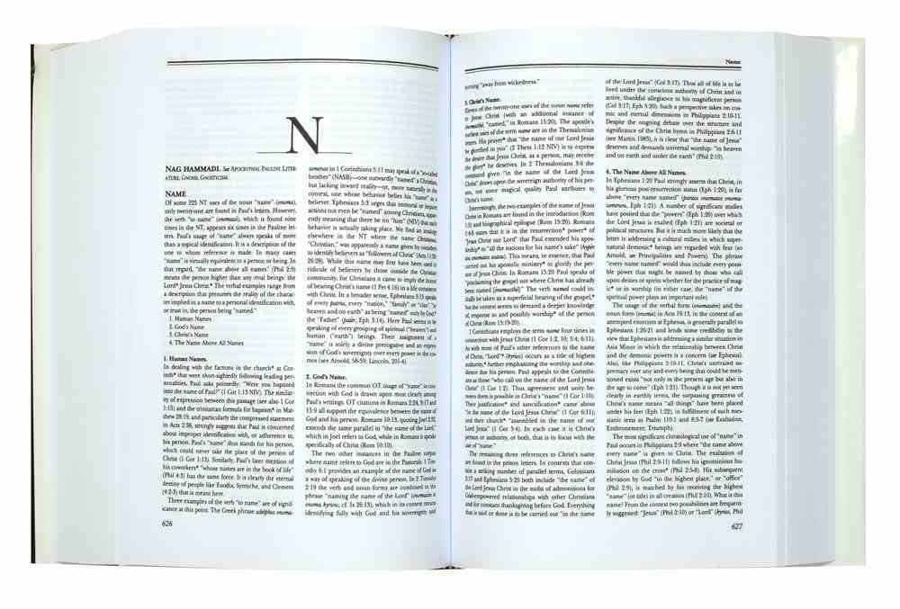 Dictionary of Paul and His Letters Hardback