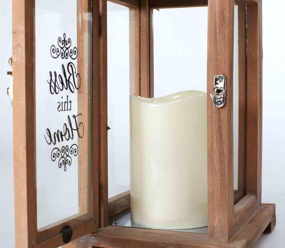 Lantern: Bless This Home, Glass Doors Homeware
