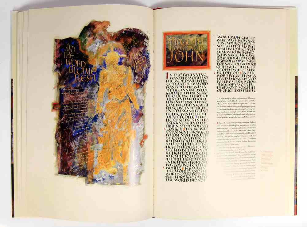 Gospels and Acts (#01 in The Saint John's Bible Series) Hardback