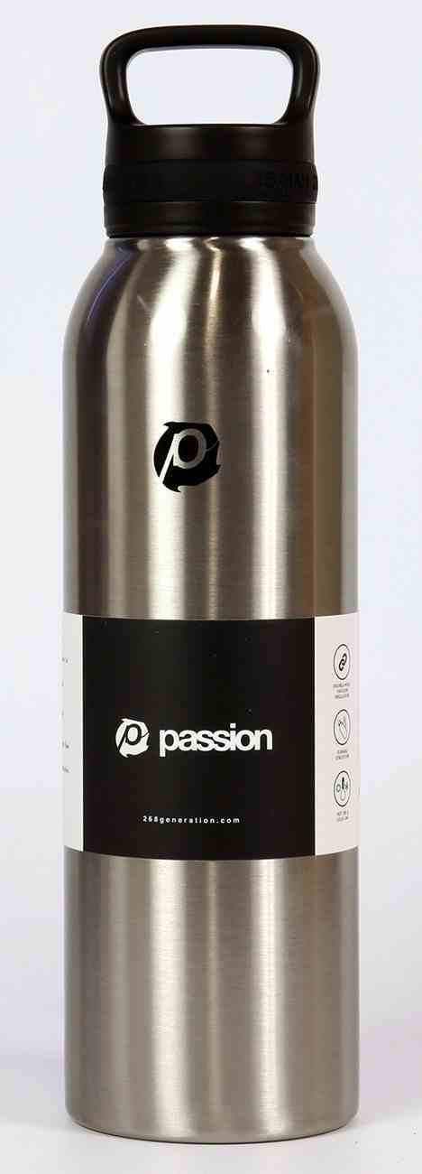 Water Bottle 730ml Stainless Steel: Passion (Isaiah 26:8) Homeware