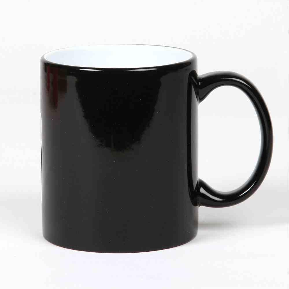 Ceramic Mug: Black, 325 ML Homeware