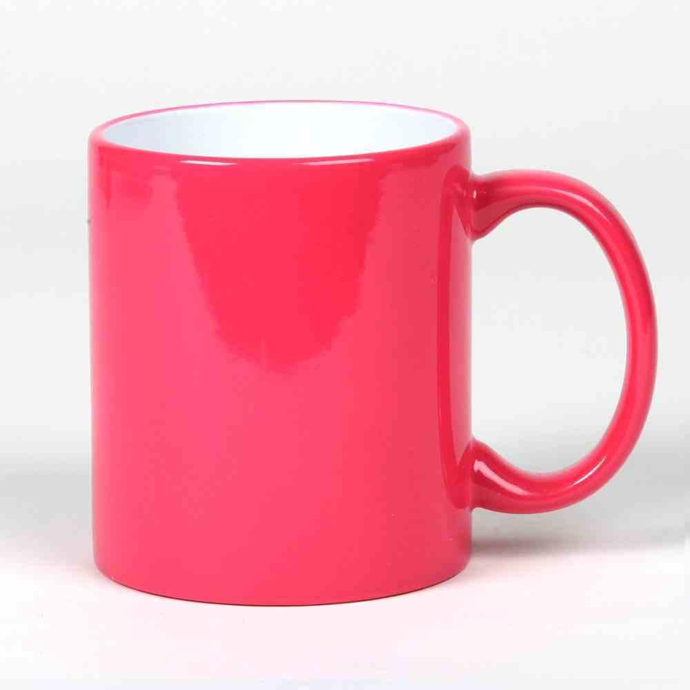 Ceramic Mug: Pink, 325 ML Homeware