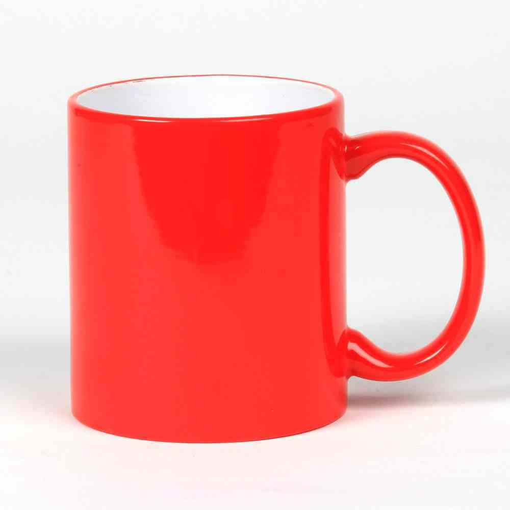 Ceramic Mug: Red, 325 ML Homeware