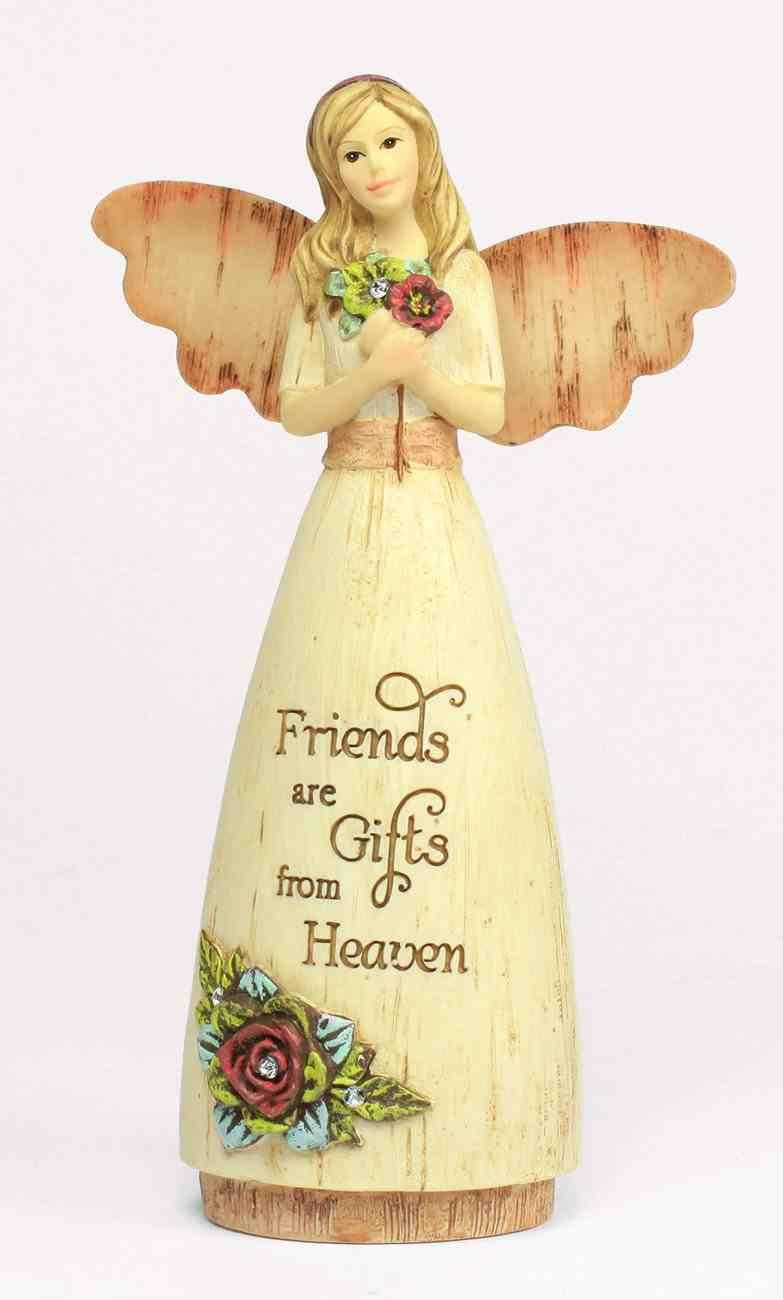 Simple Spirits Angel: Friend, Angel Holding Flowers Homeware