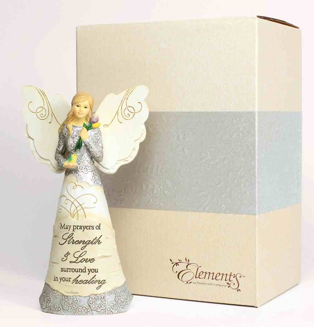 Elements Angel: Strength & Healing, Angel Holding Bird Homeware