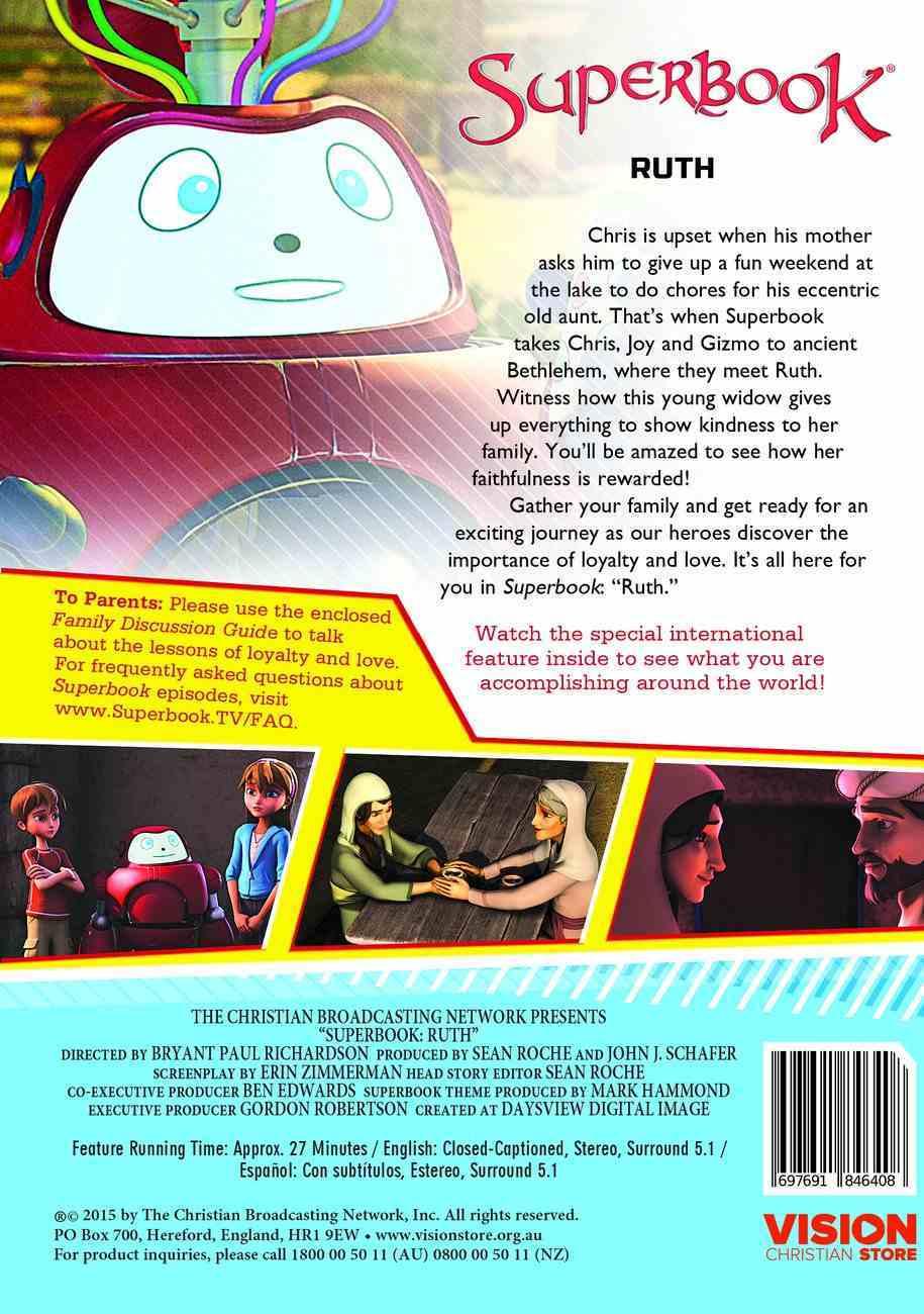 Ruth (#01 in Superbook Dvd Series Season 3) DVD