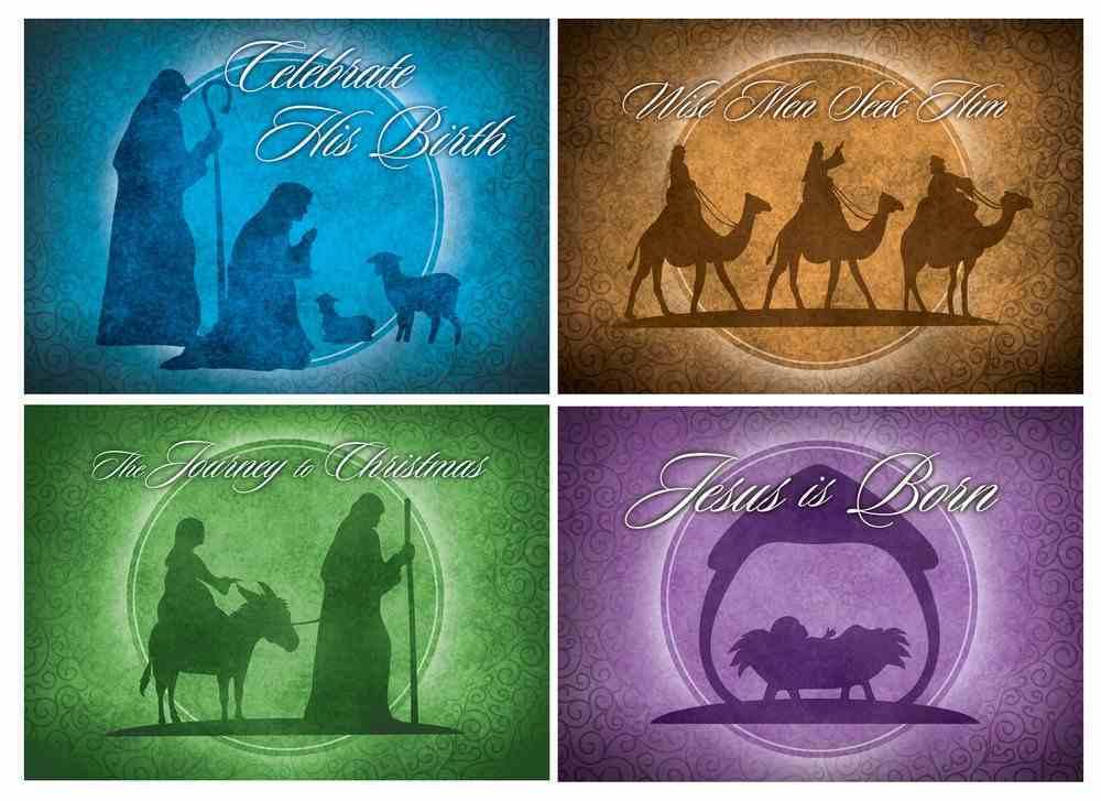 Christmas Boxed Cards: Celebrate His Birth (Kjv) Box