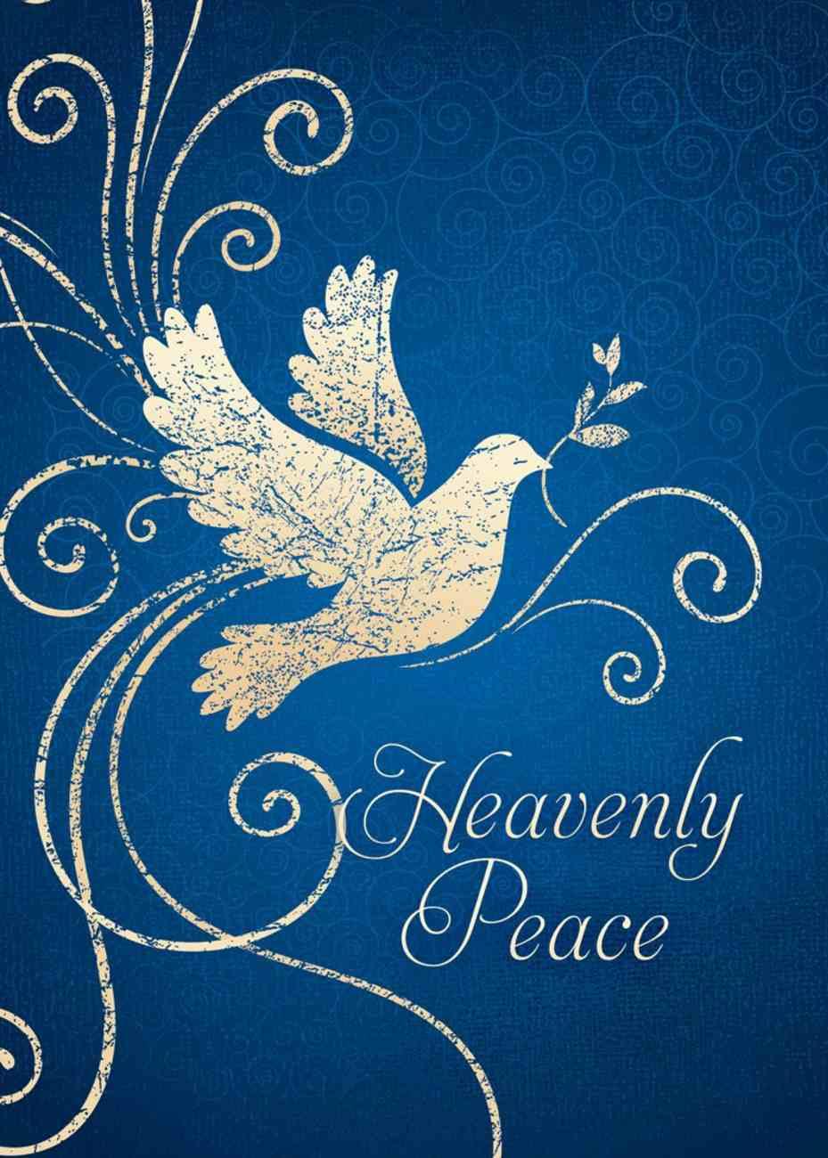 Christmas Boxed Cards: Heavenly Peace, White Dove (Luke 2:14 Kjv) Box