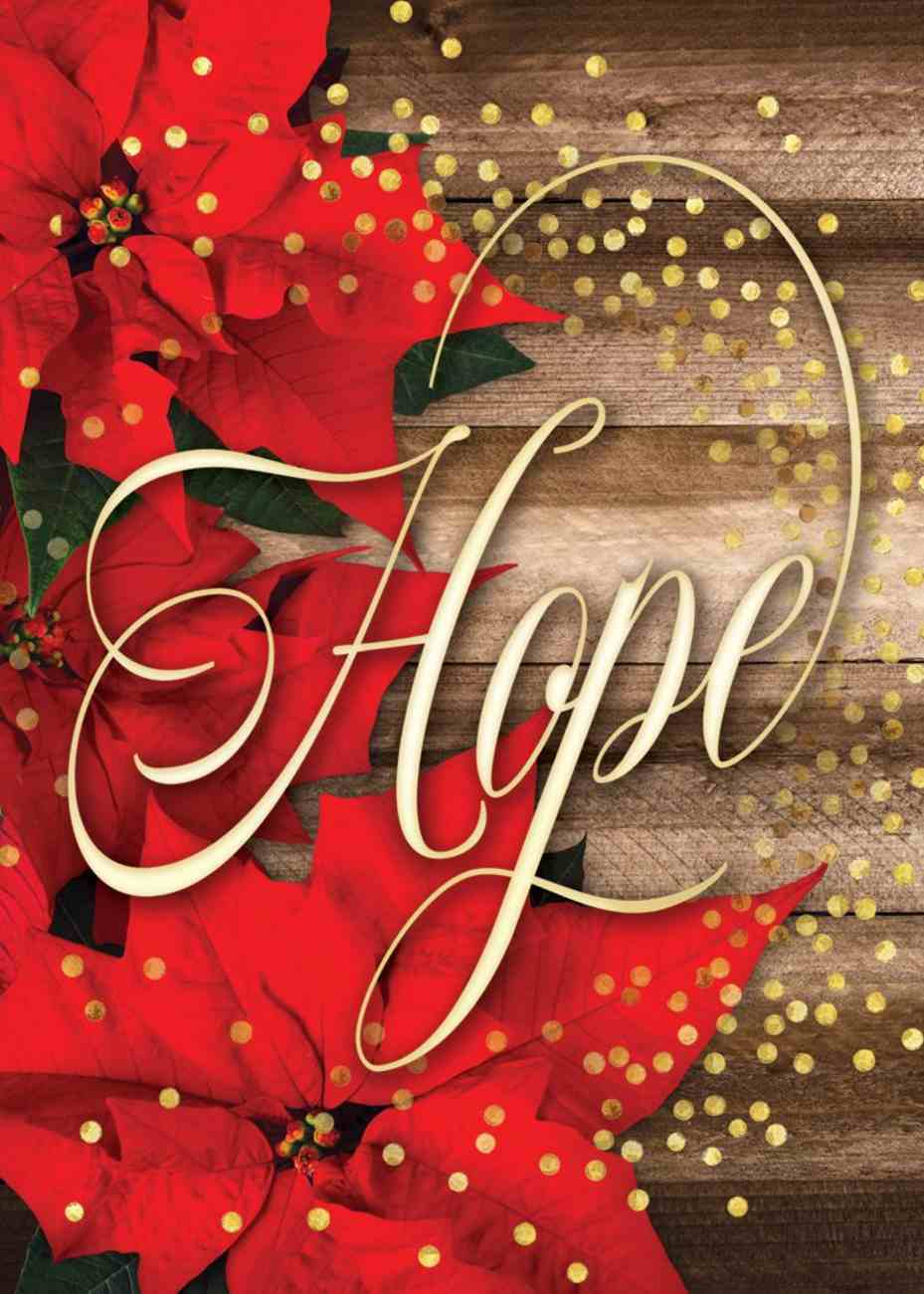 Christmas Boxed Cards: Hope is Born Anew, (Rom 13:15 Kjv) Box