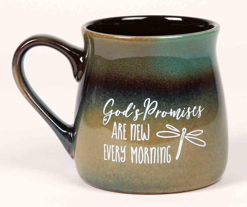 Ceramic Reactive Mug: God's Promises Are New Every Morning Homeware