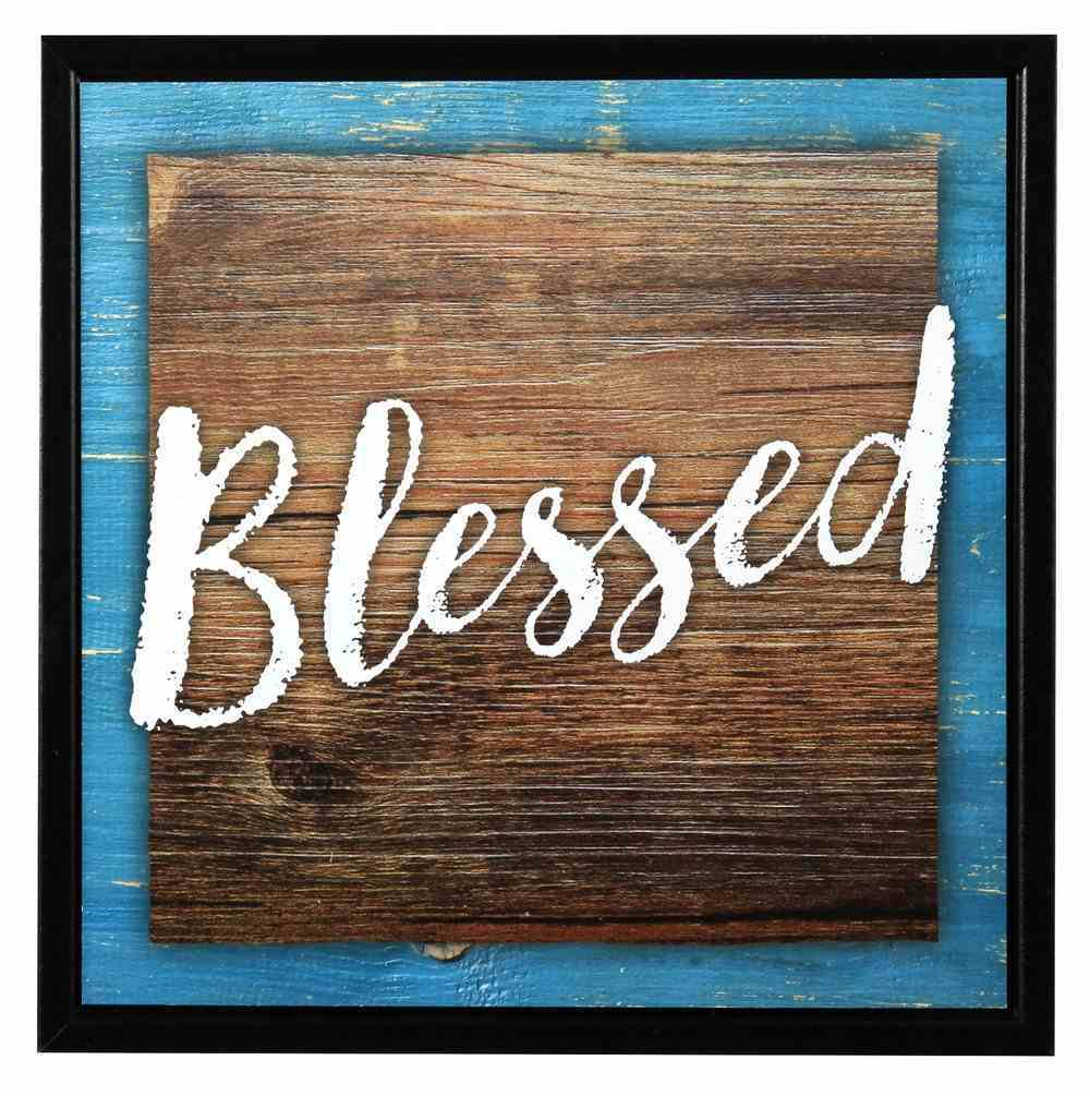Simple Expressions Plaque: Blessed Plaque