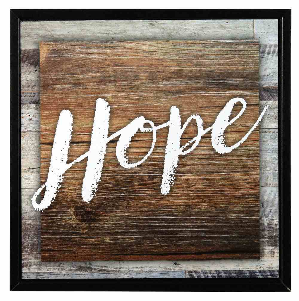 Simple Expressions Plaque: Hope Plaque