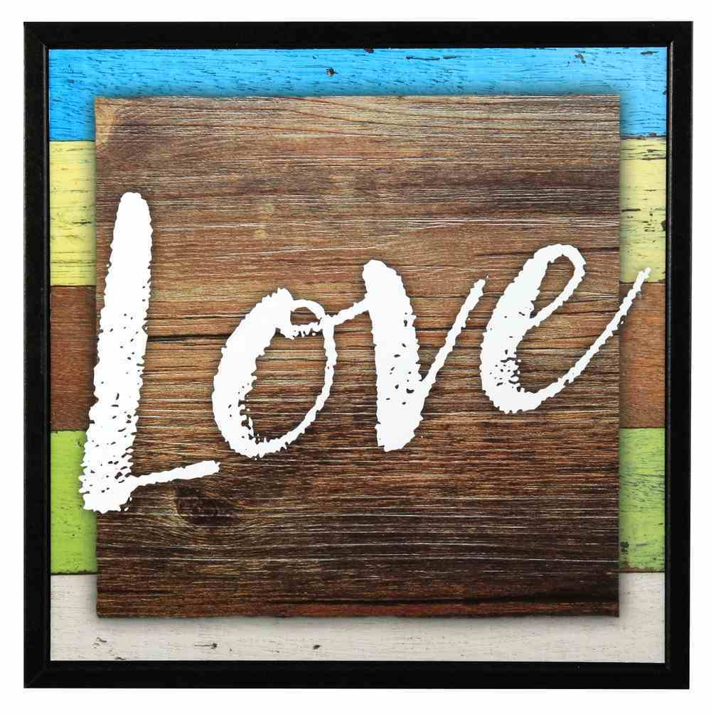 Simple Expressions Plaque: Love Plaque