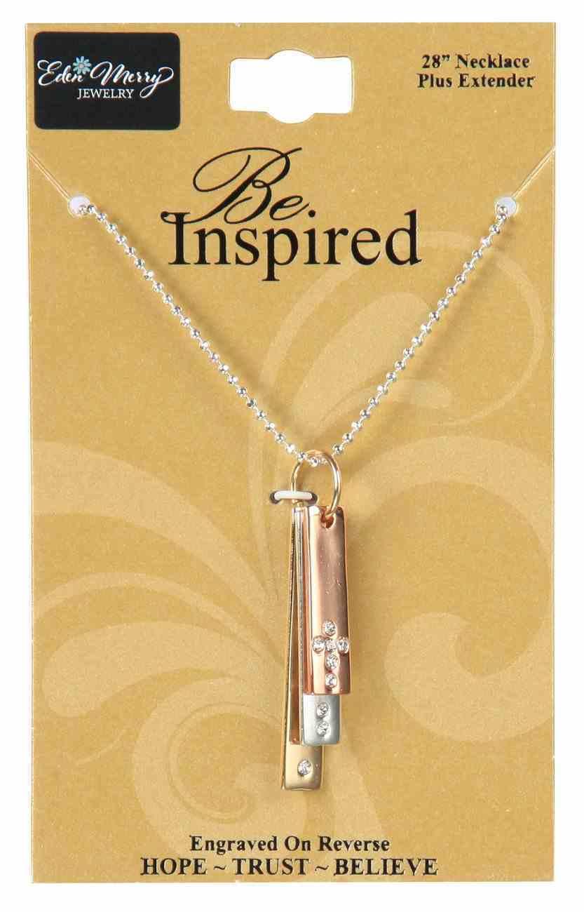Inspired Necklace: Believe, Trust, Hope, 71Cm in Length Jewellery