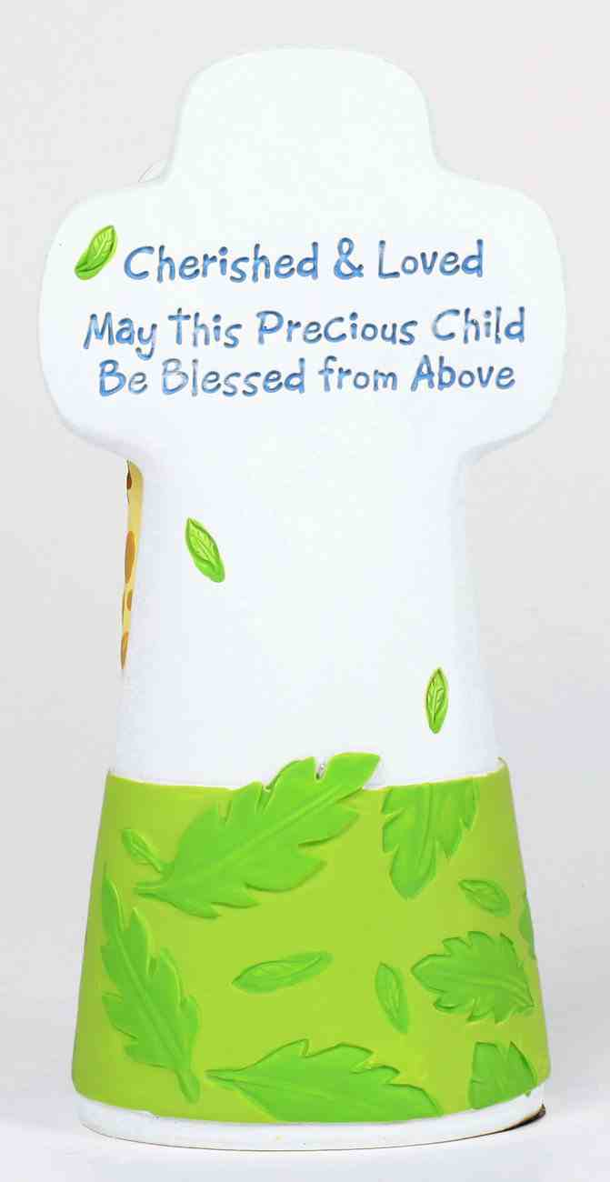 Cherished Blessings Cross: Boy, May This Precious Child Be Blessed From Above Plaque
